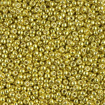 Size 11 Miyuki Seed Beads -- 4205 Duracoat Galvanized Zest