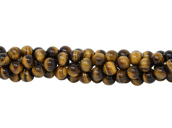 Tiger Eye Grade A Polished 10mm Round