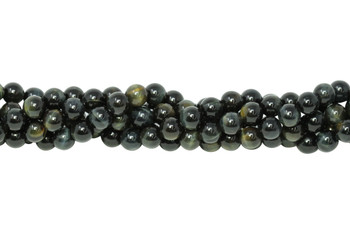 Blue Tiger Eye Grade A Polished 8mm Round