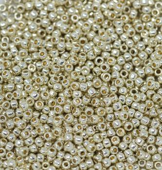 Size 11 Toho Seed Beads -- P470 Galvanized Silver