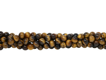 Tiger Eye Grade A Polished 8mm Round