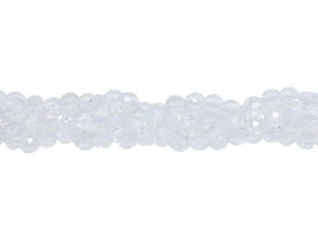Crystal Quartz 64 Cut Polished 8mm Faceted Round