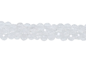 Crystal Quartz 64 Cut Polished 10mm Faceted Round