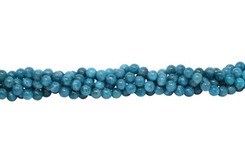 Apatite Polished 8mm Round - Turquoise Blue