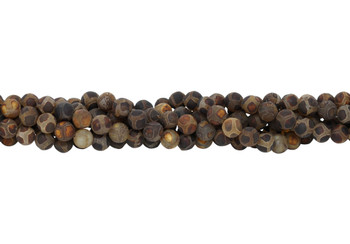 Tibetan Agate Matte 10mm Round