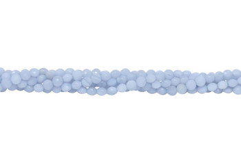 Blue Lace Agate Polished 4mm Coin