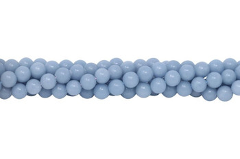 Blue Angelite Polished 8mm Round