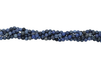 Dumortierite A Grade Polished 4mm Round