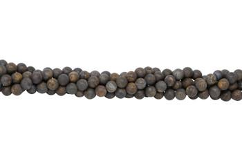 Bronzite Matte 8mm Round