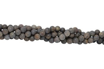 Bronzite Matte 10mm Round