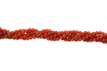Carnelian Grade Polished 4mm Round