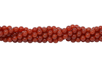 Carnelian A Grade Polished 6mm Round