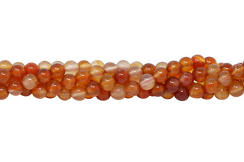 Carnelian Polished 6mm Round