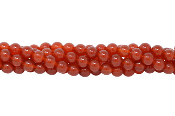 Carnelian Grade A Polished 8mm Round