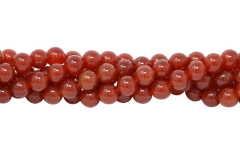 Carnelian Grade A Polished 10mm Round