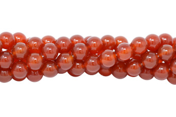 Carnelian Grade A Polished 12mm Round