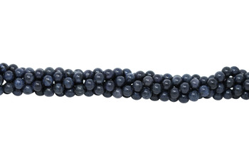 Dumortierite Grade A Polished 8mm Round