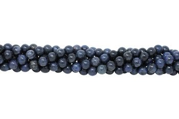 Dumortierite Grade A Polished 10mm Round