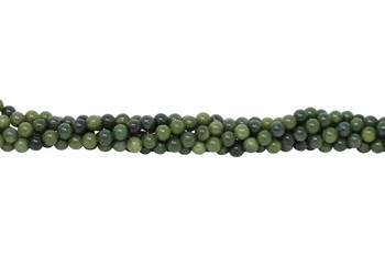 Nephrite Jade  Polished 8mm Round