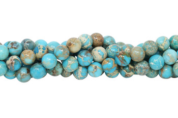 Imperial Jasper Polished 8mm Round
