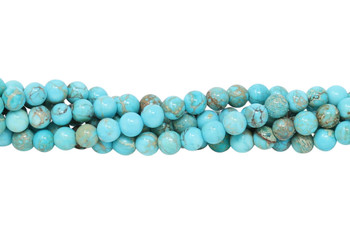 Aqua Terra Jasper Polished 6mm Round
