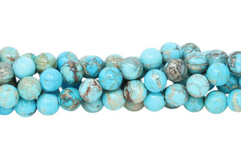 Aqua Terra Jasper Polished 8mm Round