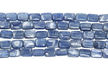 Kyanite Polished 8x6mm Rectangle