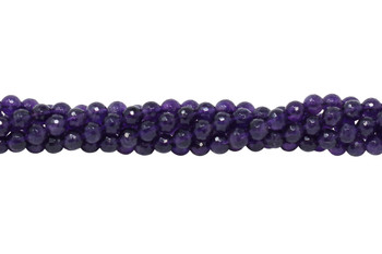 Amethyst A Grade Polished 6mm 128 Faceted Round