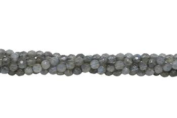 Labradorite AA Grade Polished 4mm Faceted Round