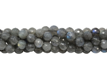 Labradorite A Grade Polished 6mm Faceted Round