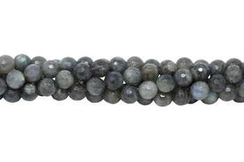 Labradorite AA Grade Polished 8mm Faceted Round