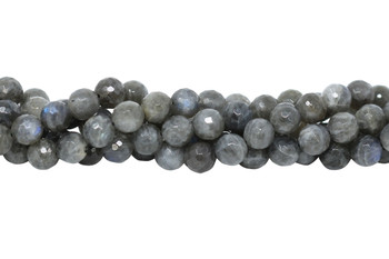 Labradorite AA Grade Polished 10mm Faceted Round