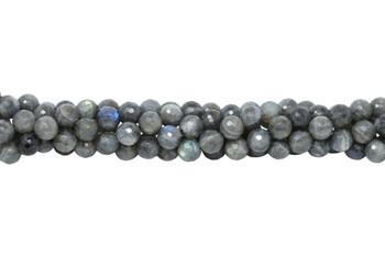 Labradorite Polished 12mm Faceted Round