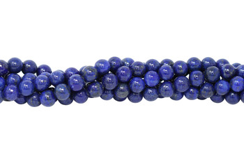 Dyed Lapis A Grade Polished 8mm Round