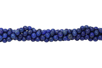 Dyed Lapis A Grade Polished 6mm Round