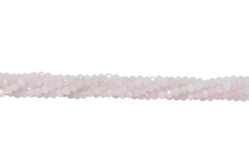 Morganite Polished 4mm Faceted Round