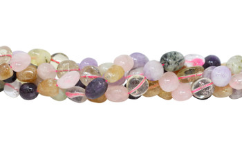Mixed Gemstones Polished 15x10mm Nuggets