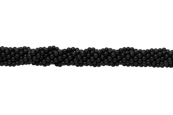 Black Onyx Grade A Polished 2mm Round