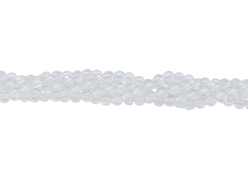Crystal Quartz A Grade Polished 4mm Round