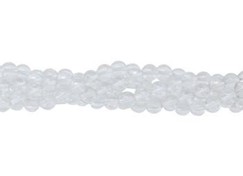 Crystal Quartz A Grade Polished 8mm Round