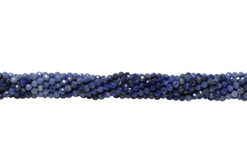 Sodalite Polished 3mm Faceted Round