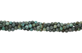 African Turquoise Polished 8mm Round