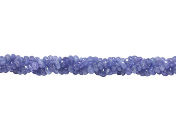 Tanzanite Polished 5mm Rondel