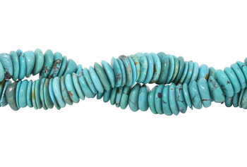 Chinese Turquoise Polished 14mm Tire