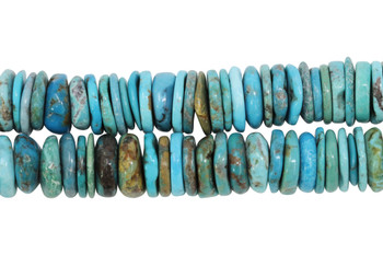 Chinese Turquoise Polished 12-13mm Tire