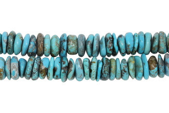 Chinese Turquoise Polished 14-13mm Tire
