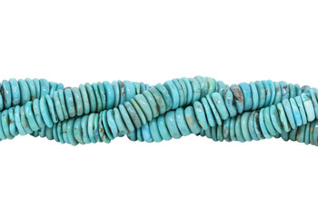 Chinese Turquoise Polished 12mm Tire