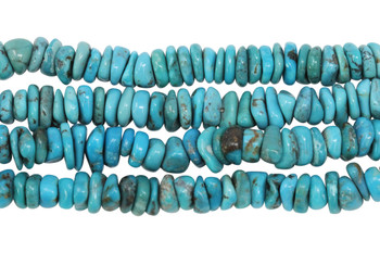 Chinese Turquoise Polished 9-10mm Tire