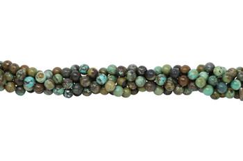 Hubei Turquoise Polished 10mm Round