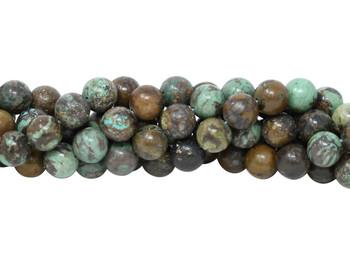Hubei Turquoise Polished 12mm Round